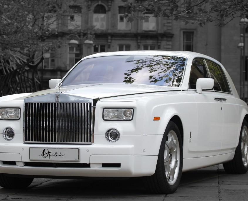 rolls royce phantom wedding cars