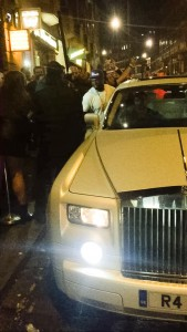 50 Cent with Opulence Executive Travel