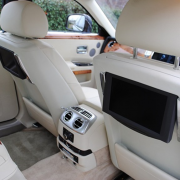 Rolls Royce Wedding Car Interior