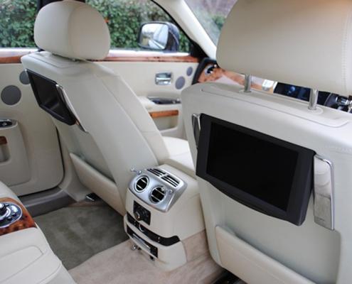 Rolls Royce Wedding Car Interior