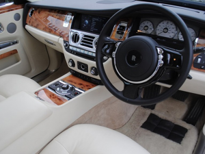 rolls royce steering wheel