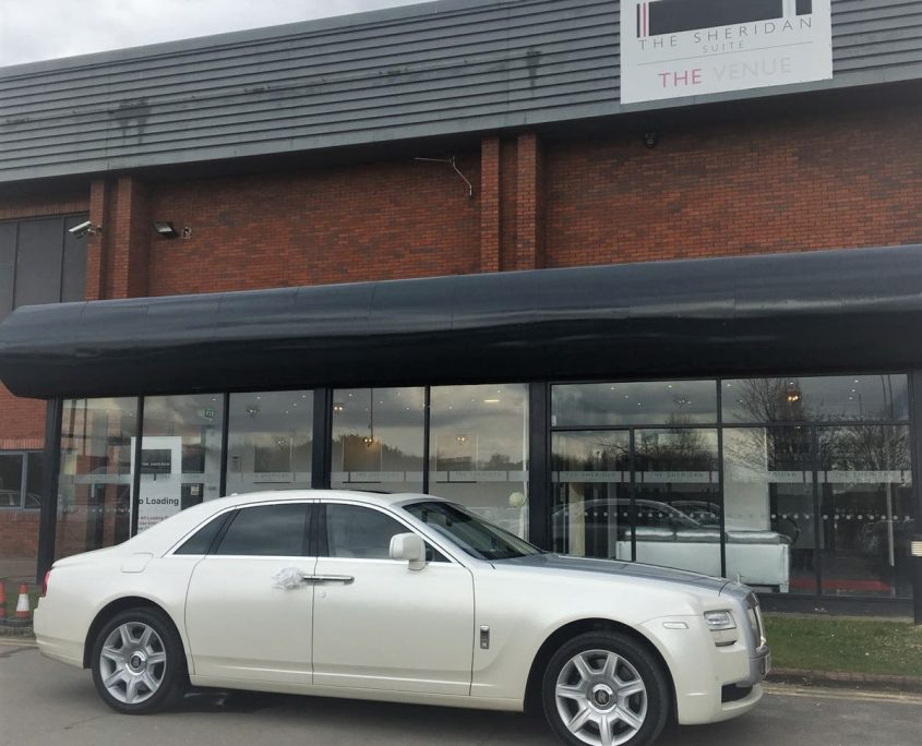 Rolls Royce Wedding Car Hire Manchester