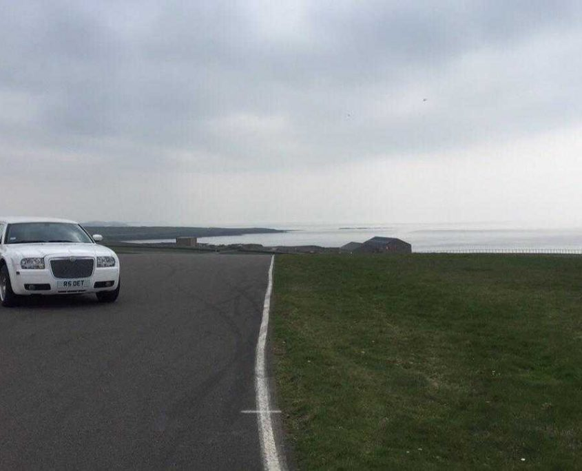 Opulence's Bentley Limo Featured in BBC Amazing Machines in Anglesey Circuit in Wales