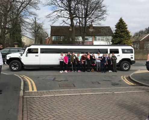 Birthday limo hire Leeds