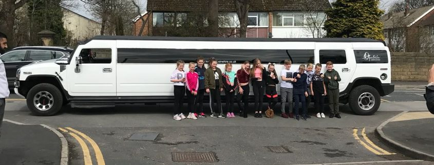 Birthday limo hire Leeds