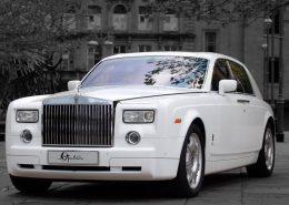 roll royce phantom hire for wedding
