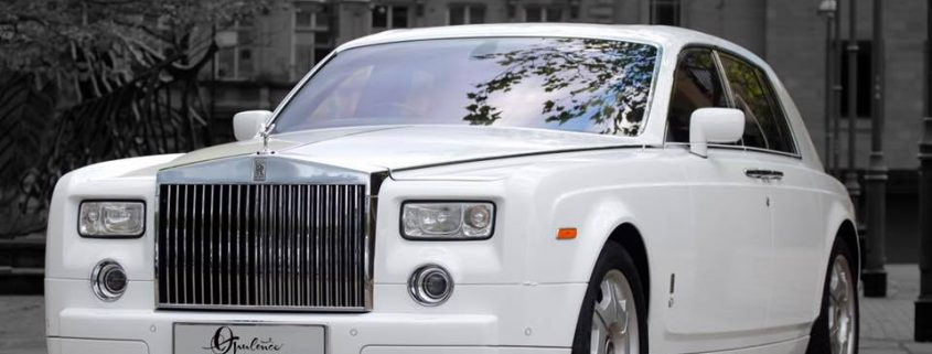 roll royce phantom hire for wedding in Doncaster