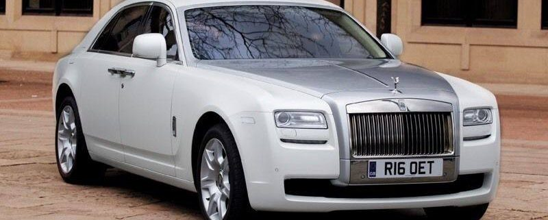 rolls royce wedding car hire bolton