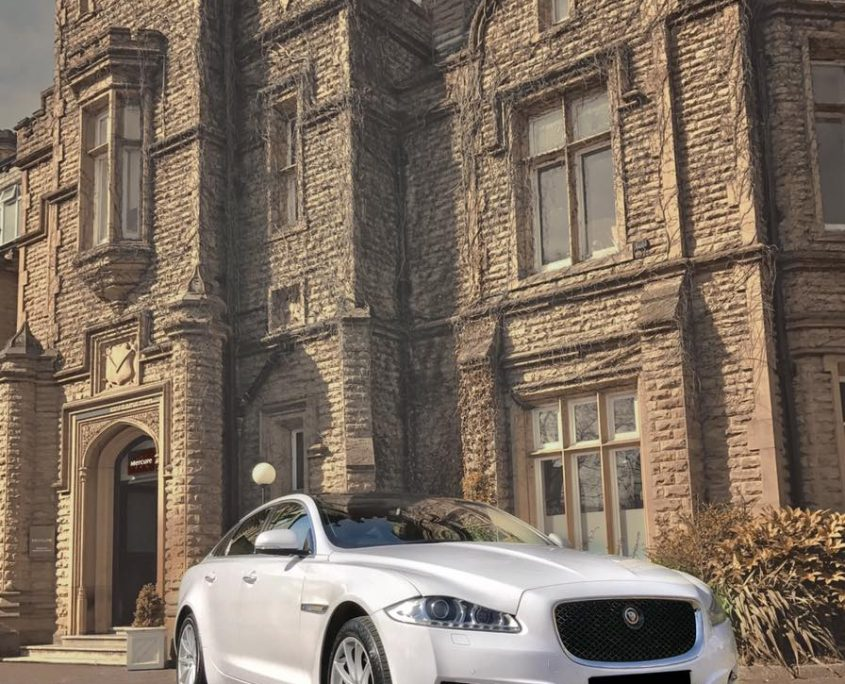 Jaguar for corporate car hire