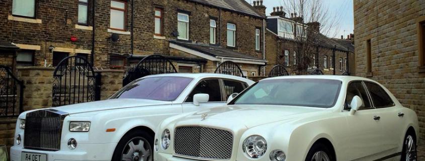 wedding car hire in Preston, Lancashire