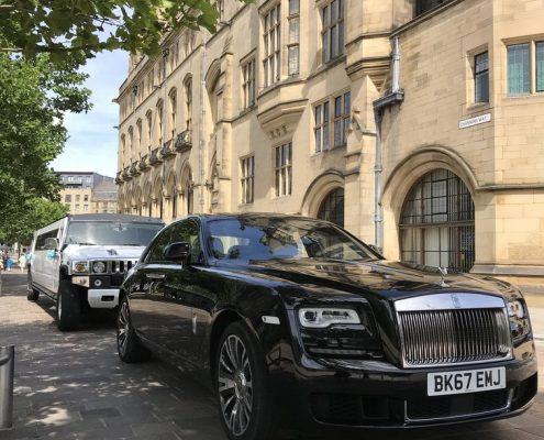Black Rolls Royce Ghost Wedding Cars Hire in Bradford