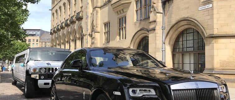 Black Rolls Royce Ghost Wedding Cars Hire in Bradford