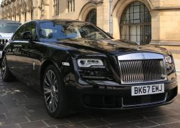 Black Rolls Royce Ghost