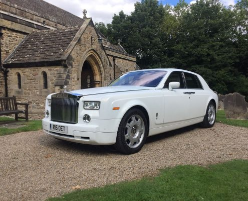 Wedding car hire in Middleton Tyas, Richmond, North Yorkshire