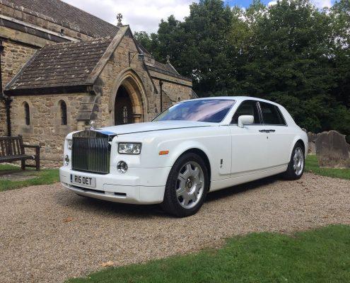 Wedding car hire in Middleton Tyas, Richmond, North Yorkshire