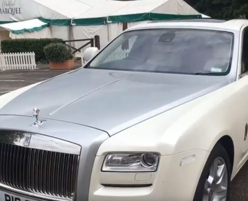 rolls royce kiki dance by groom
